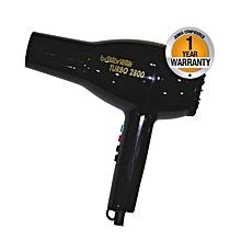 Turbo 2800 Hair Dryer - Black
