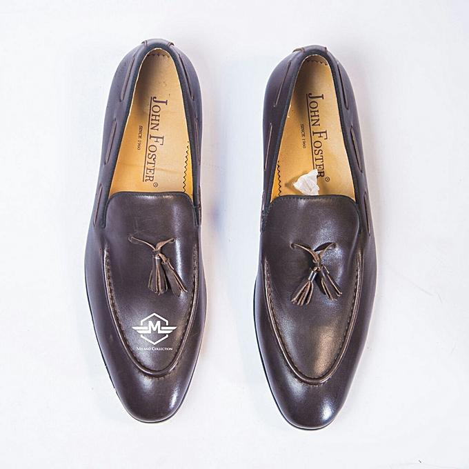 Buy Generic Tassel Leather Loafers Men Shoes Best Price Jumia Kenya