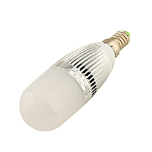 E14 5W SMD 2835 28-LED Corn Light 400LM Cool White AC 110 - 240V - White Silver