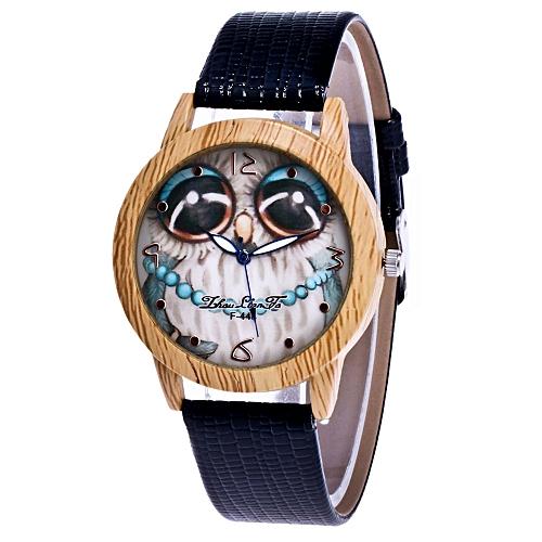 Fashion Unisex Leather Band Analog Quartz Vogue Wrist Watch Watches Couple