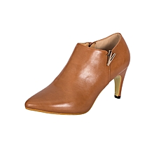 Brown Women's Office Shoes