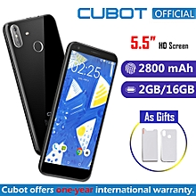 """R11 - 5.5"""" 2GB/16GB Fingerprint Android 8.1 G-Sensor 3G Smartphone EU - Black"""