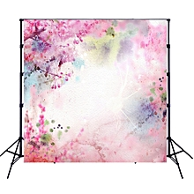 Andoer 1.5*1.5 meters / 5*5 feet Foldable Polyester Fibre Photography Backdrop Background Photo Studio Props for Newborn Portrait Party Photography 6 Models for Option