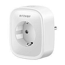 BlitzWolf® BW-SHP2 Smart WIFI Socket EU Plug 220V 16A Work with Amazon Alexa Google Assistant
