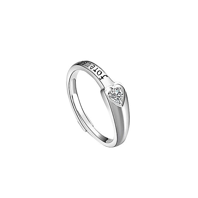 Buy Generic Opening Ring Engagement Ring Fashion Single Letters