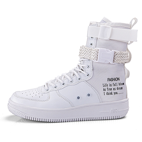 0b4af5cb6 Generic Trend Size High Upper Slippers Students Sports Shoes for Men and  Women Youth Hip-hop Couple Shoes 36-46