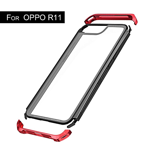 CO LUPHIE Toughened Glass Mobile Phone Protective Case Scrape Resistance For OPPO-Red