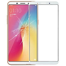 Front Screen Outer Glass Lens for OPPO A73 (White)