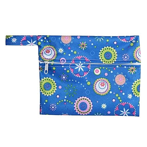 a73fefd16f9a 1PC Reusable Waterproof Zip Wet Bag Pouch For Baby Infant Cloth Diapers  Nappy Sanitary Pads(