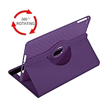 Lightweight 360 Degree Rotation Leather Tablet Cover Suitable For Ipad Mini 4-purple