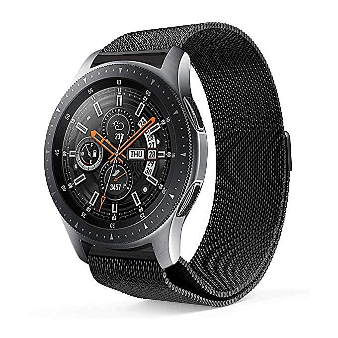 Compatible Gear S3 Band,Galaxy Watch (46mm) Bands,22mm Milanese Loop Stainless
