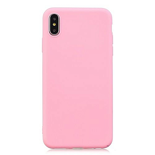 timeless design 5c463 139e5 for iPhone 6 6S case Candy Color Case iPhone Matte Soft TPU Case on iPhone  Full Cover Squishy Case-Dark pink