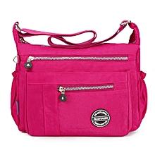 Women Nylon Waterproof Large Capacity Leisure Crossbody Bag Shoulder Bag
