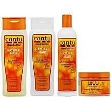 Cleansing Shampoo, Conditioner, Curl Activator + Define & Shine Custard
