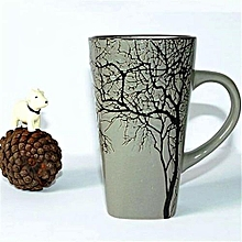 Latte mug -Grey Branch