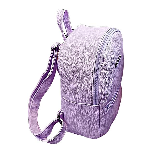 ae76d9ddd4fcdb Girls Leather School Bag Travel Backpack Satchel Women Shoulder Rucksack PP