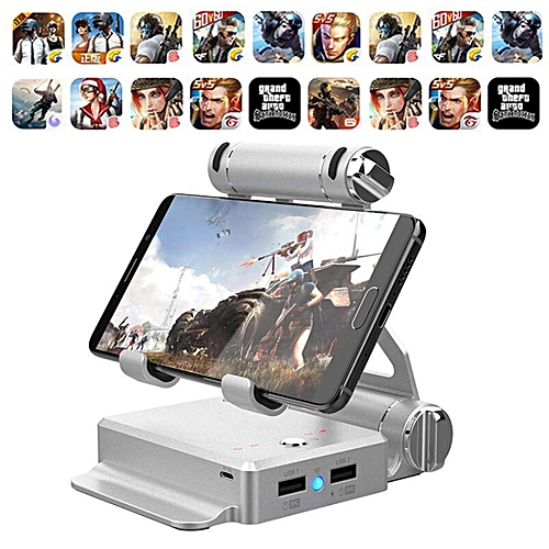 LEBAIQI GameSir X1 Bluetooth Controllers BattleDock Converter Stand,  Android and iPhone Phone Holder Mouse and Keyboard converters for Hot PUBG  Like,