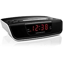 AJ3123/05 - Digital Alarm Clock with FM Tuner Radio -  Black
