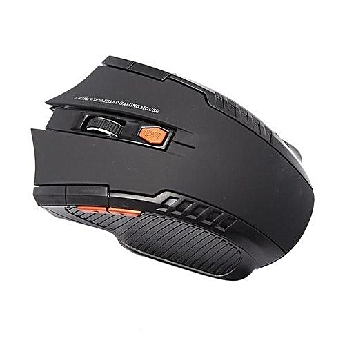 UNIVERSAL 2.4Ghz Mini Wireless Optical Gaming Mouse Mice& USB Receiver For PC Laptop-Black