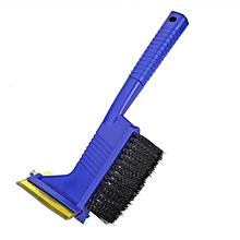 3-in-1 Car Snow Brush Shovel Windshield Window Ice Scraper Removal Escape Emergency Hammer Tool Blue