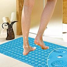 Anti-Slip blue Bathroom Mat 70*35
