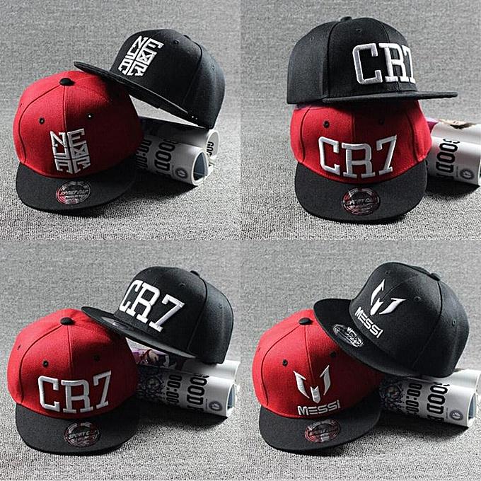 519fa2b7 New Fashion Children Ronaldo CR7 Neymar NJR Baseball Cap Hat Boys Girls  Kids MESSI Snapback Hats Hip Hop Caps Gorras(Nemal light green)