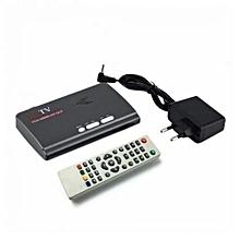 Digital TV Combo ( DVB-T2) Black