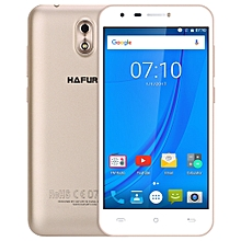 HAFURY MIX 3G Smartphone Android 7.0 5.0 inch IPS Screen MTK6580A 1.3GHz Quad Core 2GB RAM 16GB ROM 13.0MP Rear Camera A-GPS Proximity Sensor - GOLDEN