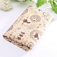 10 Vintage Europe Styles Natural Cotton Linen Fabric Cloth Sewing Craft E