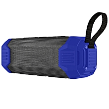 NR - 1000 Portable Bluetooth Speaker with Mobile Power Bank  - Blue