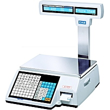 CAS CL5000J label printing scale.
