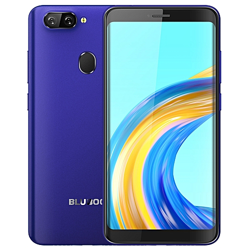 D6 Pro, 2GB+16GB, Dual Back Cameras, Face ID & Fingerprint Identification, 5.5 inch 2.5D Curved Android 8.1 MTK6739V Quad Core up to 1.5GHz, Network: 4G, Dual SIM(Blue)