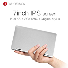 One Netbook One Mix Laptop 7 Inches 8GB/128GB Handheld gaming notebook Windows10 Intel Cherry Trail Atom X5-Z8350-Silver