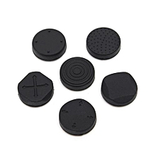 A Set 6 In 1 Protective Button Pad Kit Silicone Grip Analog D-Pad Joystick Cap Cover For Sony PS Vita PSV Console 1000 / 2000