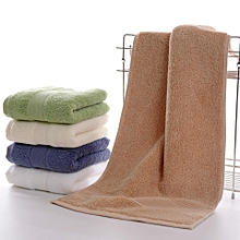 Pure Cotton Face Bath Towel Soft Thick Absorbent Bathroom Towels