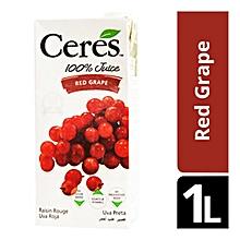 Juice Red Grape 100% - 1 Litre