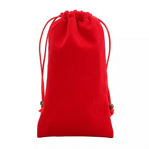 1x Finger Monkey Bags Portable Kids Play Storage Bag Toys Rug Box For Fingerlings Monkey-Red