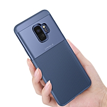 Protective TPU Back Cover Case For Samsung S9 PLUS / S9, Mobile Phone Anti-Shock Case Blue