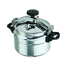 Explosion Proof Pressure Cooker 7 Litres - Silver