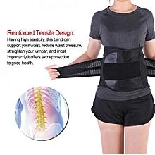 Women Postpartum Girdle Belly Recovery Trimmer Tummy Slimming Belt Black XXL