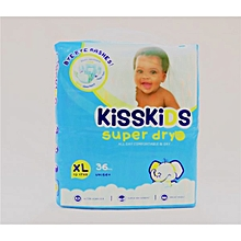 Baby Disposable Super Dry Soft Extra Comfortable Diaper XL, 15kgs