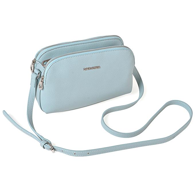 3b8e13a73f DAVID JONES Women Clutch Bags Female Crossbody Bag Wallets PU Purse ...