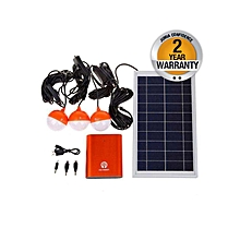 JHM-30 - Solar Home Lighting System - Orange