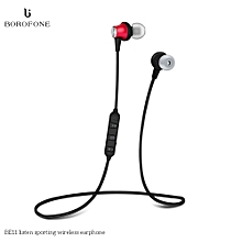 Bluetooth 4.1 Headphones Magnetic Sport Running Headsets Stereo Music Earphone Built-in Microphone Sweatproof for iPhone Samsung