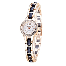 guoaivo SBAO Fashion High - end Watches Round Dial Bracelet Table Women 's Watches - Multicolor A