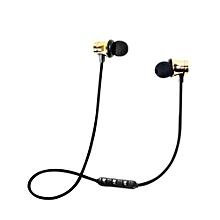 Earphone Headphone Smart Handfree Magnetic Outdoor Telephone Wireless Bluetooth Headset HIFI Bass