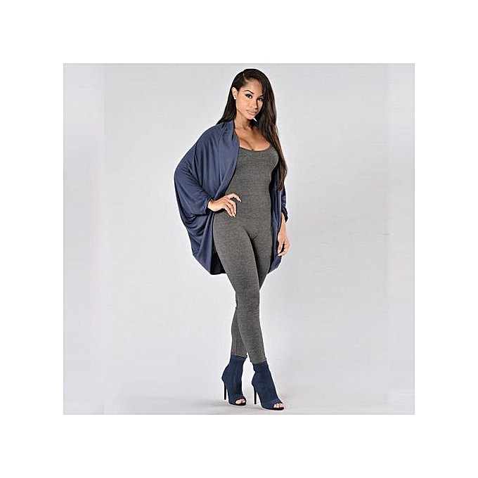 bda688f2901b Hiaojbk Store New Women Casual Sleeveless Bodycon Romper Jumpsuit Club  Bodysuit Long Pants DGL-Dark ...