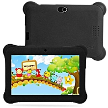 Kids Tablet PC 7 Android 4.4 Case Bundle Dual Camera 1.2Ghz Wi-Fi Bonus Items-Black