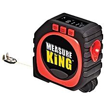 3-mode Digital Laser Measuring Tape - Jet Black