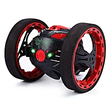 2.4GHz Wireless Remote Control Jumping RC Toy Bounce Cars Robot Toys -Black
